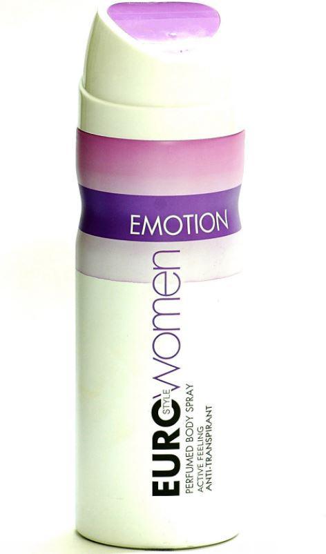 Euro Style Emotion Women's Perfumed Body Spray