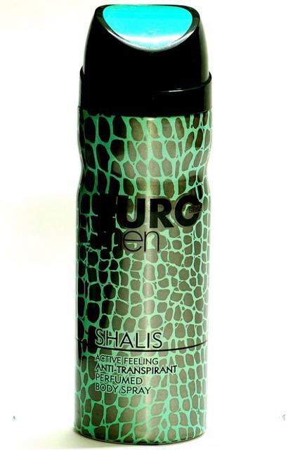 Euro Style Shalis Mens Perfumed Body Spray