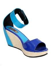 Port Designer Multicolored Wedge Heels For Women's