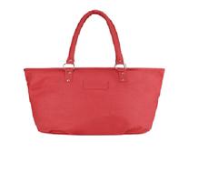 Port Exclusive Rose Madder Leather Shoulder Bag