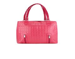 Port Exclusive Pink Leather Shoulder Bag
