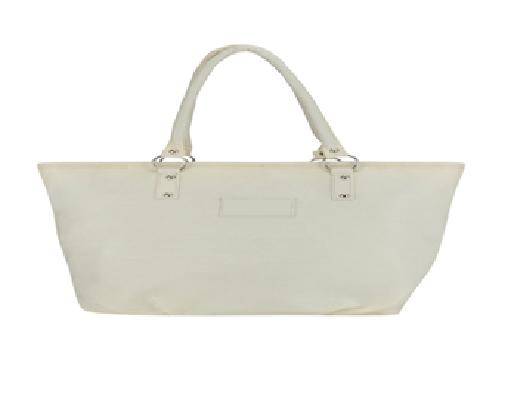 Port Exclusive Beige Leather Shoulder Bag