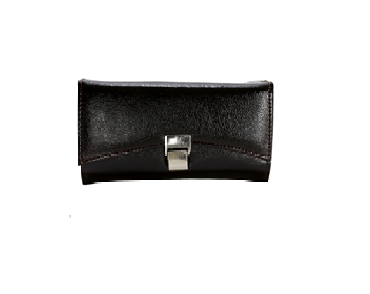 Port Exclusive Black Casual Leather Wallet