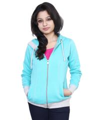 Neva Aqua Fleece Sweatshirts For Women's
