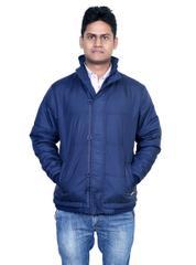 Neva Blue Hooded Jackets For Men's
