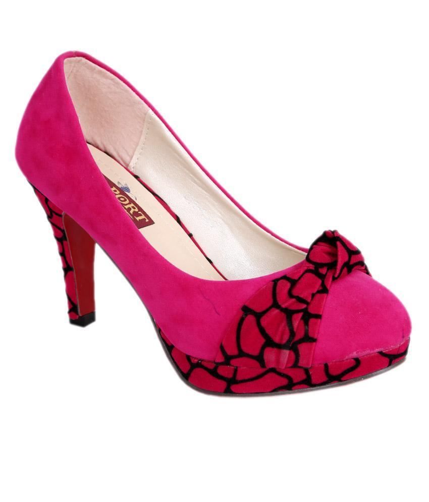 Port Women's Pink High Heels