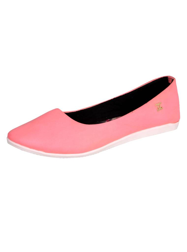 Port Pink Ballerinas For Women's
