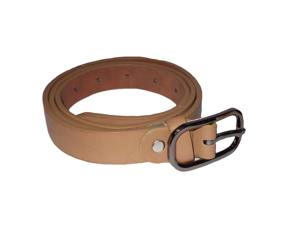 Elvi's Ladies Leather Belt Brown