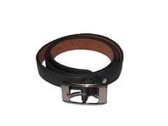 Elvi's Ladies Leather Belt black