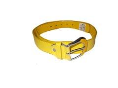 Elvi's Ladies Leather Belt yellow