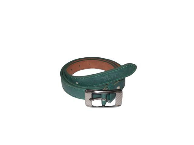 Elvi's Ladies Leather Belt Green