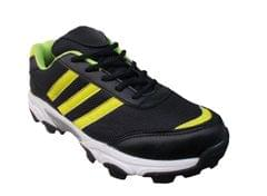 Port Men's Yellow Vans Mesh Cricket Shoes