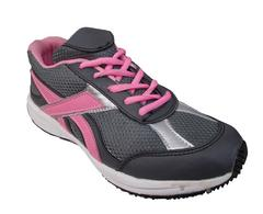 Port Women's Pink Tic Toe Mesh Running Shoes