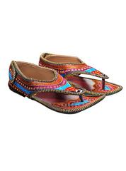 Port Women's Multicolor Rajastani Jutti
