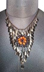 Port exclusive Handmade Black Necklace
