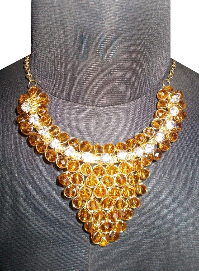 Port Exclusive Gold Beaded Necklace