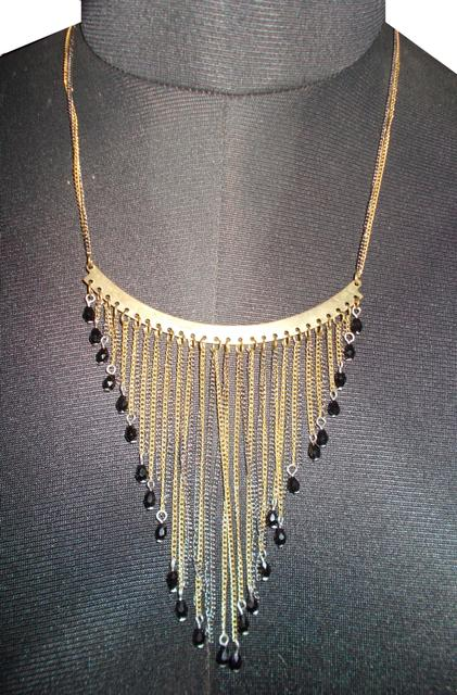 Port Exclusive Gold & Silver Alloy Necklace