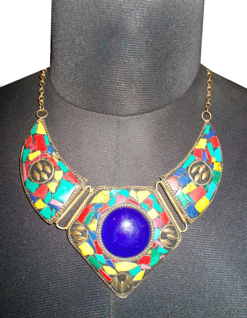 Port Exclusive Handmade Multicolored Necklace