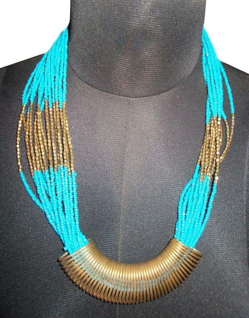 Port Exclusive Handmade Multicolored Alloy Necklace Set