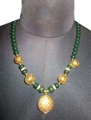 Port Exclusive Green Beaded Necklace Sets
