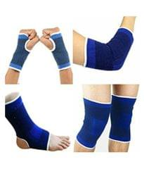 Puri Skyfitness Combo of Knee ,Palm, Elbow and Ankle Support