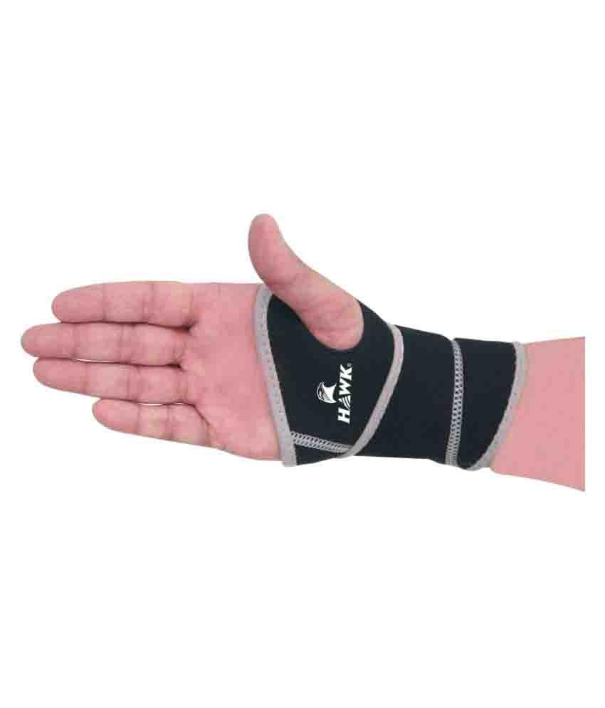 Puri Hawk Black Wrist Supports