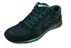 Just-In Men's New Branded Black Casual Shoes