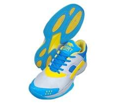 Port Men's Sky Blue Labron Badminton  shoes