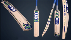 Montey Sports RSS Super King Kashmir Willow Cricket Bat (Pack of 1 Bat)
