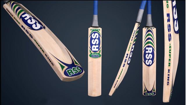 Montey Sports RSS Super King Kashmir Willow Cricket Bat (Pack of 1 Bat)