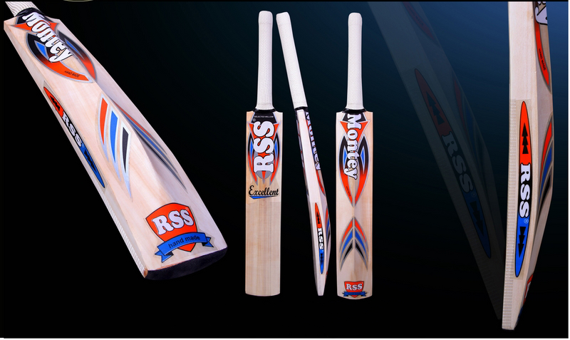 Montey Sports RSS Kashmir Willow Cricket Bat (Pack of 1 Bat)