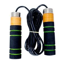 sheetal adults and kids ball bearing skipping rope wooden foam