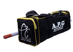 APG Black & Yellow Cricket Kit Bag