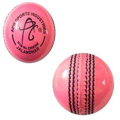 APG PINK Leather Cricket Ball (Pack Of 1)