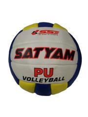Satyam Sports Multicolor PU Volleyball