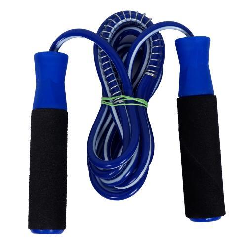 sheetal jump in adults and kids Ball Bearing Skipping Rope Blue