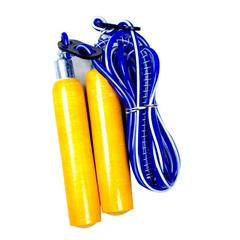 sheetal jump in adults and kids Freestyle Skipping Rope wooden blue