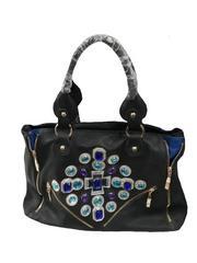 Mod'acc Black Casual  Shoulder Bag For Women's