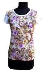 Port Floral Print Top For Women's