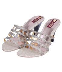 Port Gold Medium Heel Stiletto