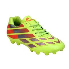 Trendz Unisex PVC C-Green Soccer Shoes