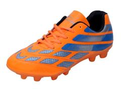 Trendz Unisex PVC Orange Soccer   Shoes