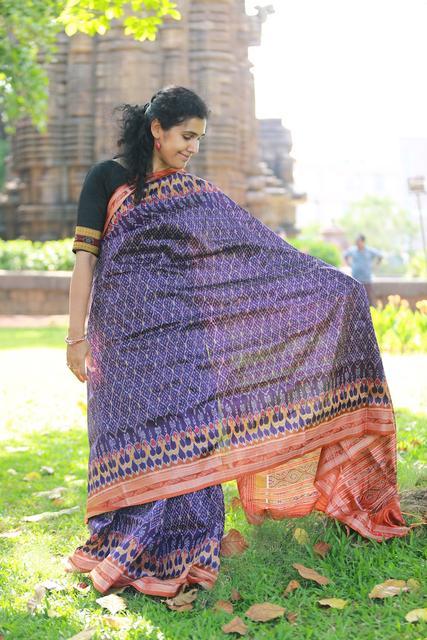 Hearts and Diamonds woven on Royal Purple