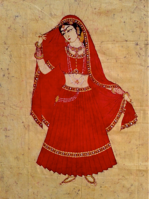 Baatik Painting - Bride