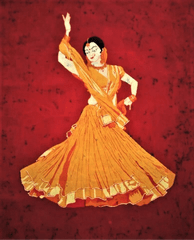 Baatik Painting - Kathak Dancer