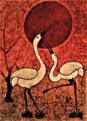 Baatik Painting - Saaras
