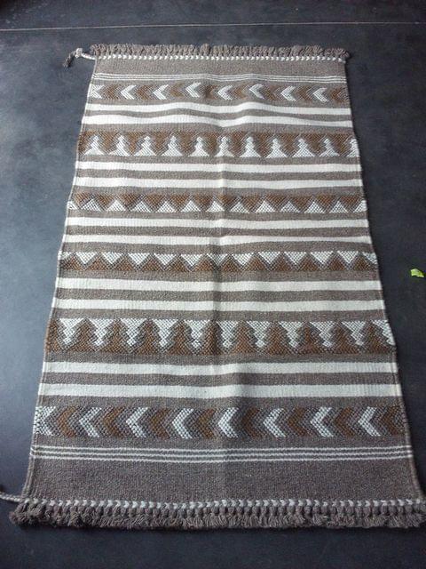 "Brown Kharad ""Rug"" with various motifs"