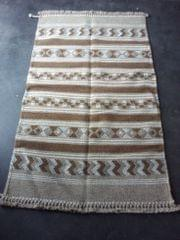 "Brown Kharad ""Durrie"" with various motifs"