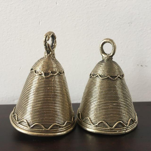 Dhokra - Pair Of Small Hanging Bells