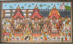 Pattachitra - Rath Yatra